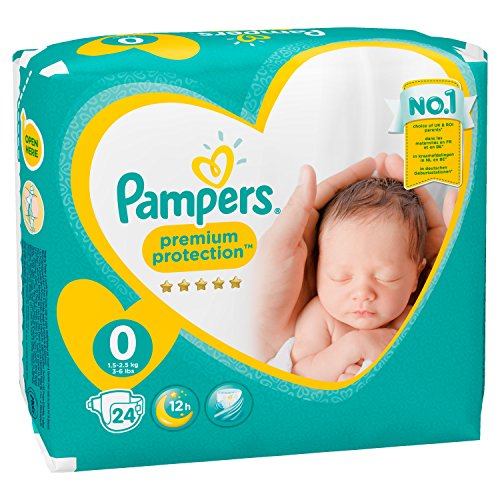 Pampers Windeln New Baby Gr.0 Micro 1-2,5 kg, 6er Pack (6 x 24 Stück) - 8