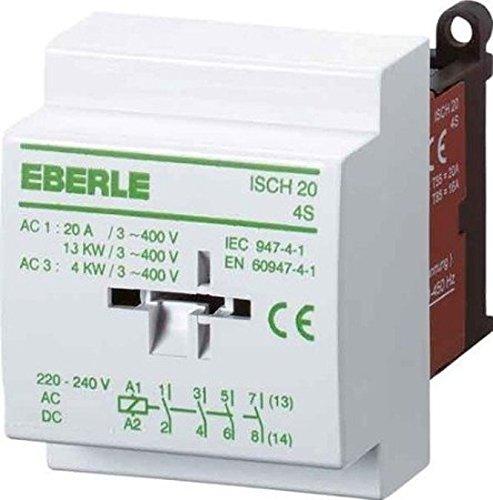 Eberle Relais d'installation, Table 20–4 S