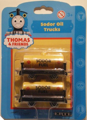 Shining Time Station: Thomas The Tank Engine: SODOR FUEL WAGONS by Ertl: Shining Time - Ertl Engine The Tank Thomas