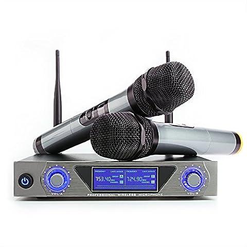 Microphone Sans Fil Micro Sans Fil UHF Micro HF Karaoké