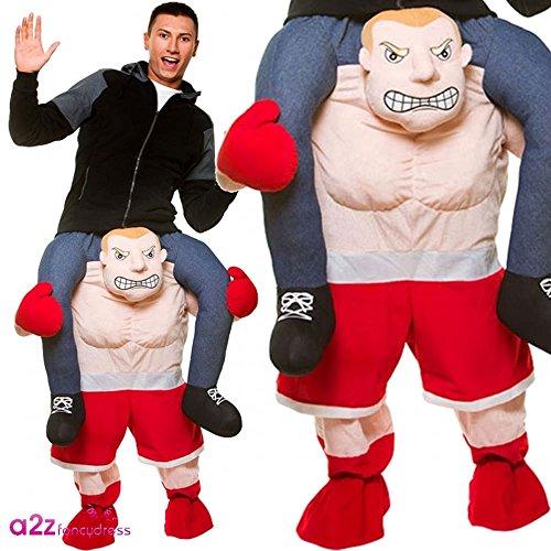 Boxer Kostüm Kid (Carry Me® Boxer Erwachsene Kostüm (Eine)