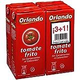 Orlando Clásico Tomate Frito - Pack de 4 x 350 g - Total: 1400 g