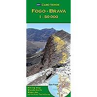Fogo, Brava 1 : 50000 (Carte de randonnée et de loisirs du Cap-Vert)