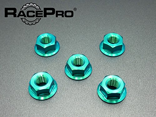 RacePro - MV Later Model of F4 & Brutale All Years -x5 Ti Sprocket Nuts Vert.
