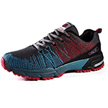 Young & Ming Zapatos para Correr EN Montaña y Asfalto Aire Libre y Deportes Zapatillas de