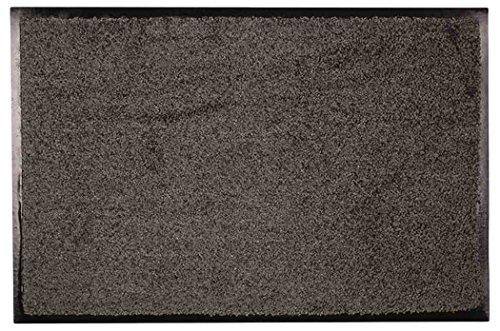 Eco+Mat Fußmatten, Kunstfaser, grau, 60 x 120 cm