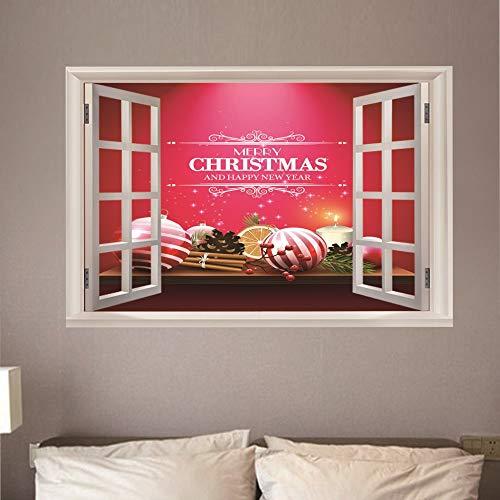 Wandaufkleber Grenze Abnehmbare Wandbild Schlafzimmer Wohnzimmer Veranda Hintergrund Wand Dekoration Tapete (50X70 Cm) ()