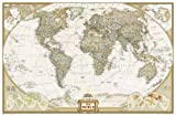 Executive Weltkarte, politisch, Grossformat: 1:22445000 (National Geographic Reference Map)