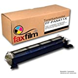 FaxFilm FF-PAN411X - Tóner de tinta para Panasonic KX-FAT411X, negro [Importado]