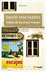 Indice de bonheur moyen par Machado