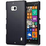 Terrapin Cover di Gomma Rigida per Nokia Lumia 930, Colore: Nero