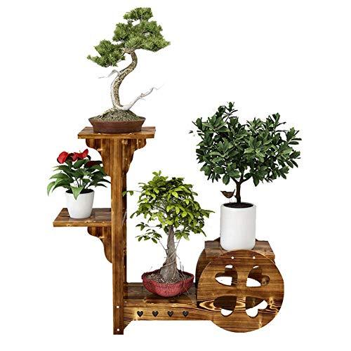 KOSHSH Antiker Effekt 4 Tier Blumenbrunnen Pflanzer Für Garten Im Freien, Terrassen, Patio Und Decking (Ecke Outdoor-pflanzer)