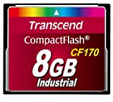 Transcend CF170 8 GB CompactFlash (CF) Card TS8GCF170