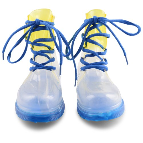 Footwear Sensation , Jungen Stiefel Blau blau Blue/White/Yellow