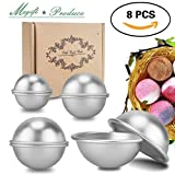 DIY Metal Bath Bomb Mould Sets, Magift 8 Pieces 4 Size 4 Set Bath Bomb Ball Kit for Relax and Save Your Money, Art Crafting Your Own Unique Recipes, Making Lush Perfect Bath Bombs for Skin Care Gift - Magift - amazon.co.uk