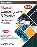 Advanced Company Law and Practice for CS Professional (Old Syllabus) Latest Edition By Sangeet Kedia, Applicable for June 2019 Exam