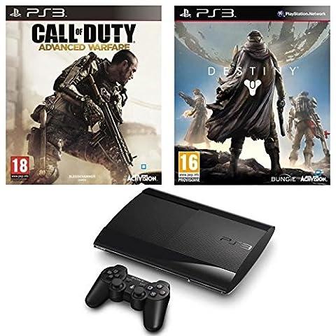 Sony computer entertainment - Ps3 Slim+ Destiny+cod Advanced Warfare Jeux Ps3