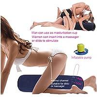 Inflar Aire Almohada-Cojines y Cuñas Almohadilla Inflable y Cojin Sexo Inflar de Gratis Mobiliario de Sexo Juegos Sexuales - para Mujeres o Parejas
