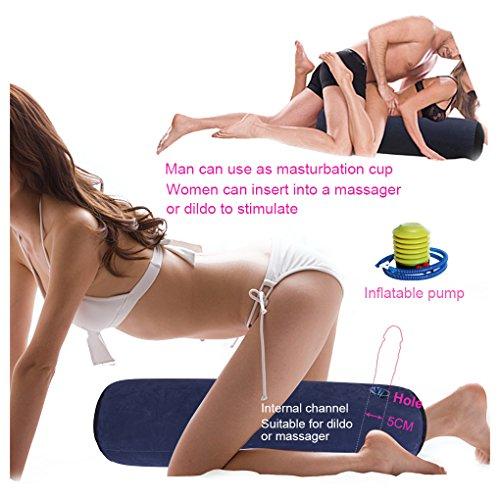 DACHMA Mehrzweck Aufblasbares Kissen Mit Loch für Massage Sticks