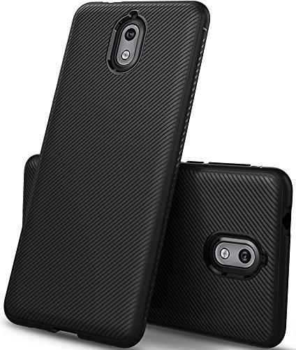 GeeMai Nokia 3.1 Hülle, Nokia 3 2018 Hülle, [Soft Schwarz Hülle] Ultra Thin Silikon Schutzhülle Tasche Soft TPU Hüllen Handyhülle für Nokia 3.1/Nokia 3 2018 Smartphone