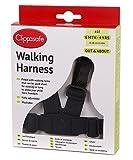 Clippasafe Walking Harness and Reins (Black) Bild
