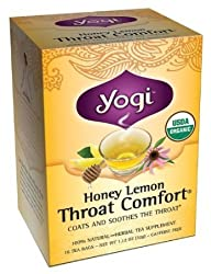 Yogi Honey Lemon Throat Comfort, 16 count
