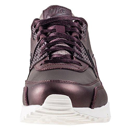 Basket, couleur Rouge , marque NIKE, modèle Basket NIKE AIR MAX 90 PRM Rouge Acajou