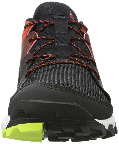 adidas Kanadia 8 Tr M, Scarpe da Corsa Uomo, Nero Grigio (Brebas / Ftwbla / Chiart)