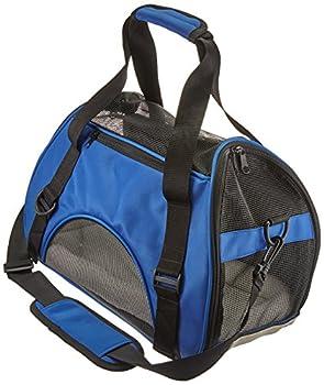 Pet Cuisine Sac à main de transport avec intérieur doux et respirable pour chien et chat Bleu Foncé M