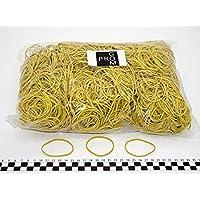 Progom - Gomas Elasticas - 60(ø38)mm x 1.7mm - amarillo - bolsa de 1k