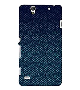 EPICCASE Blue Bubbles Mobile Back Case Cover For Sony Xperia C4 (Designer Case)