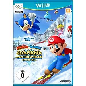 Mario & Sonic bei den Olympischen Winterspielen: Sotschi 2014 – [Nintendo Wii U]