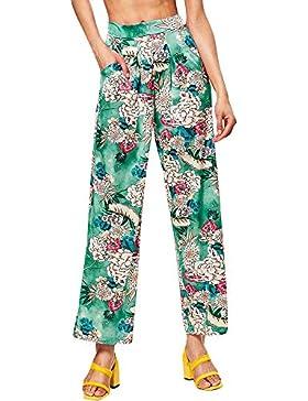 Pantalones Anchos Marlene para Mujer Otoño Invierno 2018 Moda PAOLIAN Casual Pantalones Acampanados Vestir Fiesta...