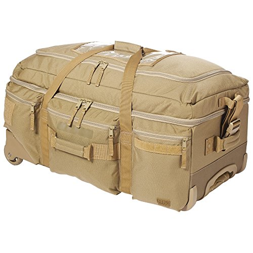 5.11 # 56960 Mission Ready 2.0 Rolling Duffle Bag, sandstein (Rolling Duffle)