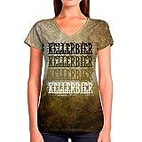 Kellerbier Retro Vintage Le t-shirt à col en vneck pour femme est fabriqué en polyester de haute qualité. Il est principalement confortable, lavable à la machine. Notre chemise sur mesure pour femmes Vneck est un beau vêtement femme sublimé aux États...