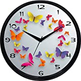 Cartoonpur 11 inches Analog Butterfly Si...