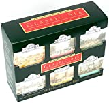 """English Tea, """"Classic Six"""" - Combination Packs of Tagged and Enveloped Teabags"""