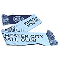 Manchester City FC Official - Bufanda efecto degradado