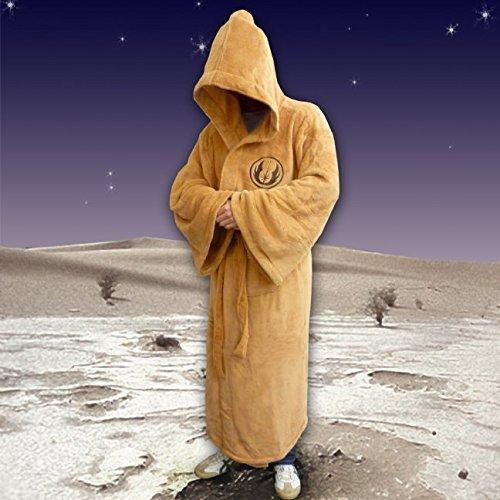 (Grande) Star Wars Jedi-bata de polar para hombre