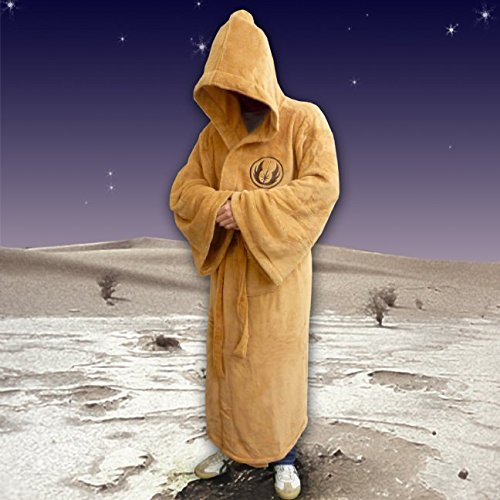 Cosplay Kostüme Jedi Bademantel Baumwolle Robe Pyjamas Nachthemd Luxury Cloak (Yoda Kostüm Frauen)