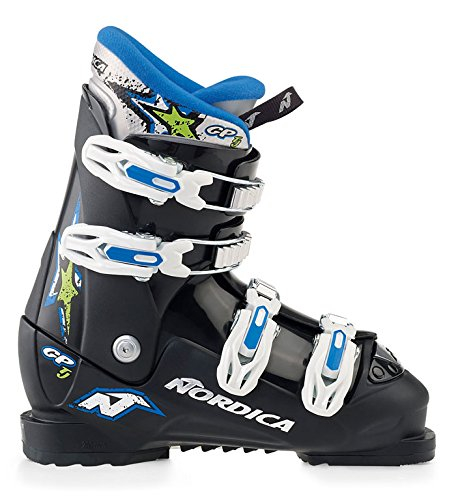 Nordica GP Junior Skischuhe Kinder Ski Stiefel - Gr. 38,5 / MP 245 - 117904-9500 -