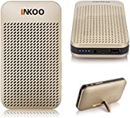 LNKOO 5000 mAh Power Bank Charger Portable Wireless Stereo Bluetooth Speaker