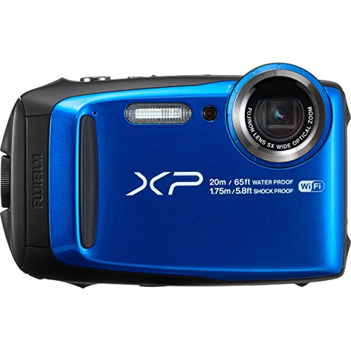 Fujifilm XP120 Action Camera - Blue