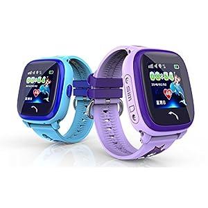 Kind Smartwatch IP67 Schwimmen GPS Touch Phone Smart Uhr SOS Anruf Ort Gerät Tracker Kids Safe Anti-verlorene Monitor