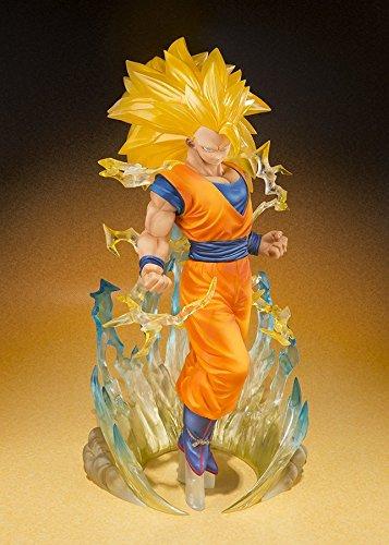 Bandai - Figurine Dragon Ball Z - Son Gokou Super Saiyan 3 Figuarts Zero - 4549660038054 4