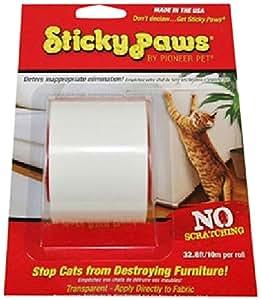 adh sif de protection de meubles contre les griffes de chat 10 m animalerie. Black Bedroom Furniture Sets. Home Design Ideas