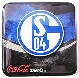 Coca Cola Zero - Fußballvereine - Schalke 04 - Kühlschrankmagnet 6 x 6 cm