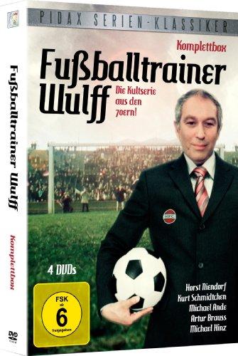 Pidax Serien-Klassiker: Fußballtrainer Wulff - Die komplette Serie auf 4 DVDs im Schuber