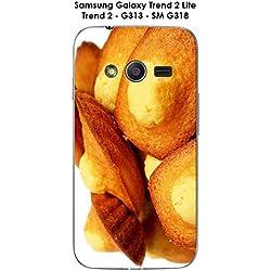 Onozo Coque Madeleines - 6 pour Samsung Galaxy Trend 2 Lite - G313 - SM G318