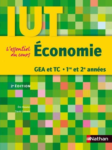 Économie GEA et TC 1re et 2e années